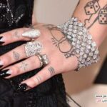 گلچینی از مدل مانیکور زنان مشهور در مراسم گرمی