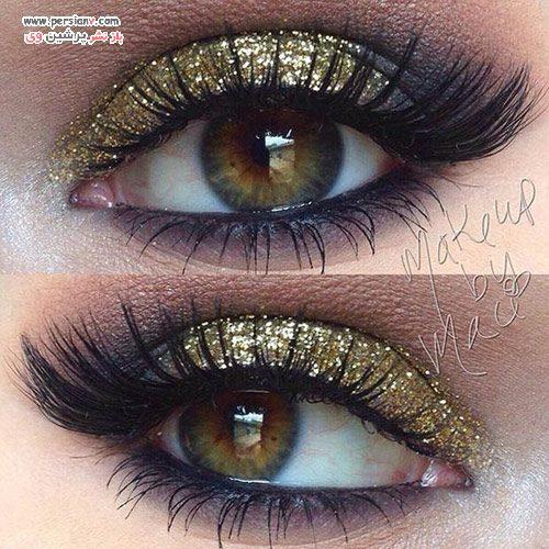 آرایش چشم براق