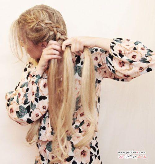 بافت موی خیلی شیک