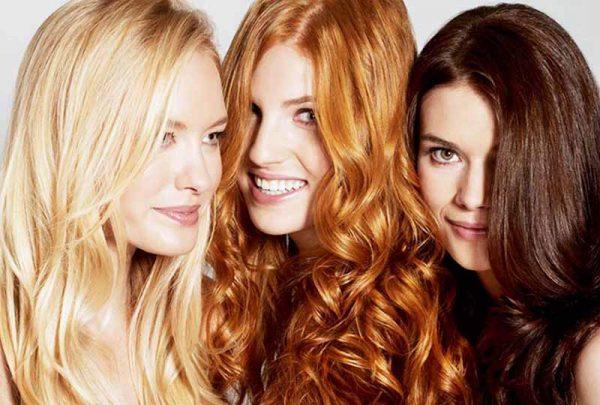 رنگ موی متناسب با رنگ پوست
