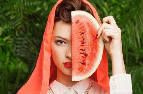 ماسک صورت با هندوانه