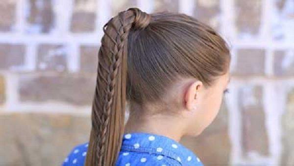 به راحتی موهای کودکتان را در خانه به زیباترین مدل آرایش کنید +تصاویر