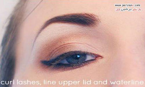 آرایش چشم طبیعی