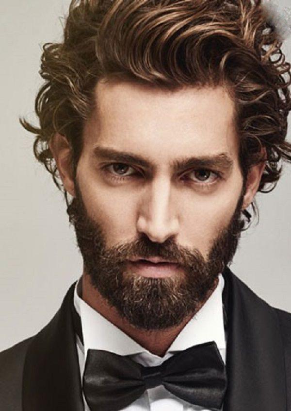 مدل موهای فرفری مردانه