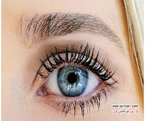 ترفند بسیار جالب برای انداختن خط سایه در آرایش چشم +عکس