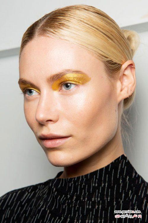 مدل آرایش و گریم های دیدنی در فشن شو نیویورک +عکس