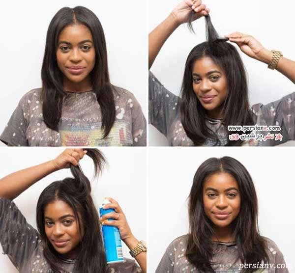 روش های حجیم نشان دادن موها