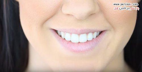 آرایش لب زیبا