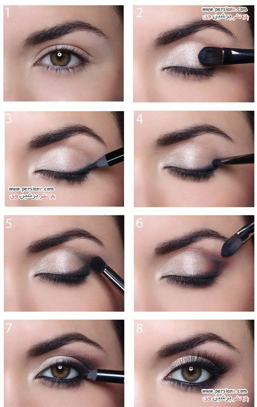 مدل آرایش چشم کلاسیک