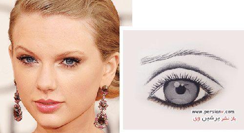آرایش چشم مناسب