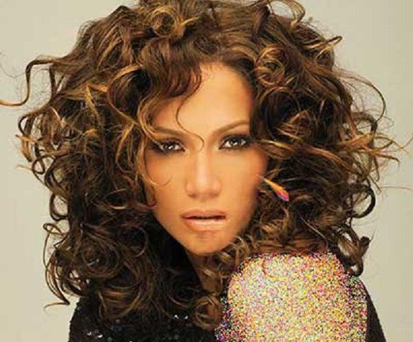 مدل مو موج دار شیک و زیبا به سبک جنیفرلوپز +تصاویر