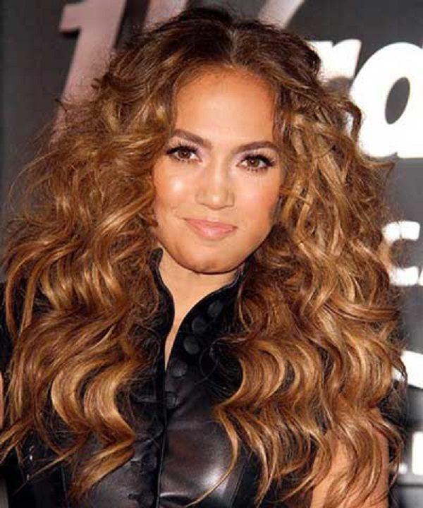 مدل مو موج دار شیک
