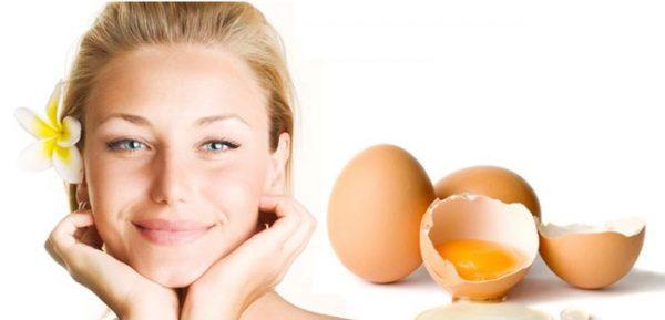 ماسک سفیده تخمه مرغ
