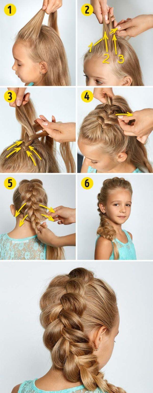 مدل های بافت موی دختر بچه ها
