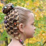 بافت مو بسیار شیک / زیباترین مدل های بافت مو برای پرنسس کوچولوها +تصاویر