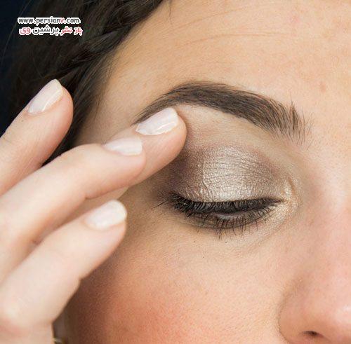 آرایش چشم زیبا و ساده