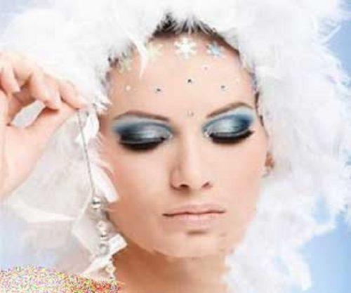 یک آرایش به سبک برفهای زمستانی داشته باشید