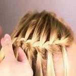 آموزش بافت مو آبشاری | بسیار زیبا و رمانتیک +عکس