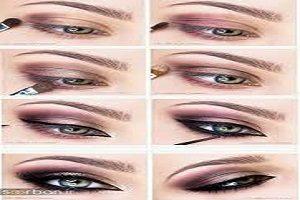 آموزش پرطرفدارترین مدل های آرایش چشم +تصاویر