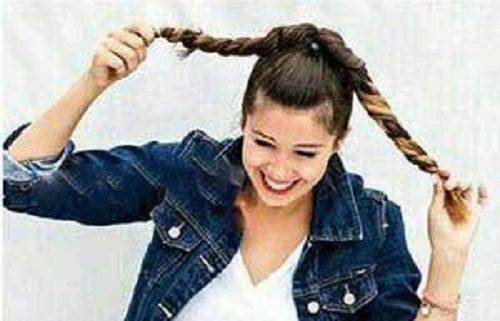مدل موی جمع زیبا
