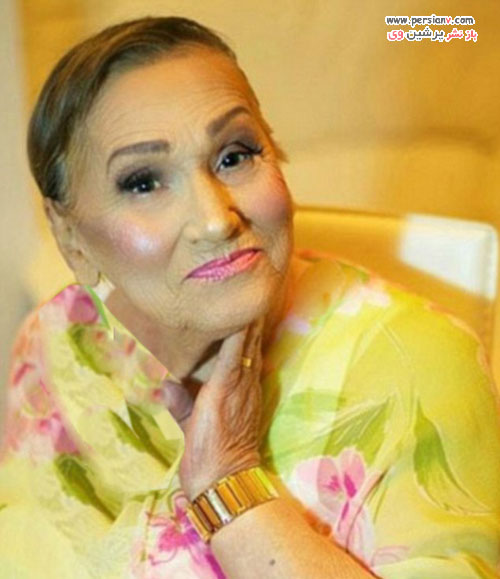 آرایش جالب و دیدنی مادربزرگ ۸۰ ساله +عکس قبل و بعد