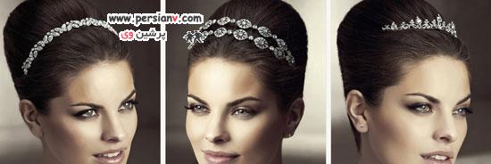 مدل های بسیار زیبای تاج و تزئینات مو عروس برند اسپوزا+عکس(۱)