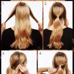 آموزش آرایش موی زنانه گرهی و باز شیک