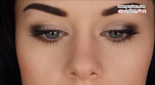 سایه چشم را با این مراحل ساده و سریع امتحان کنید +عکس