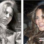 کیت میدلتون و مدل موهایی که از دختر ملکه تقلید کرده است! +عکس