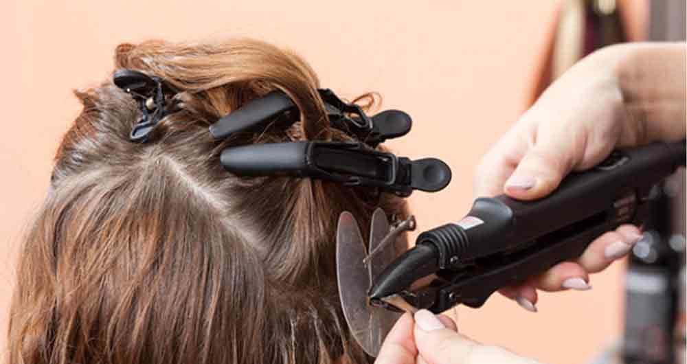 انواع اکستنشنهای مو