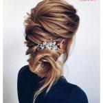 مدل آرایش مو عروس با الهام از سالن زیبایی طراح مشهور ریچل زو +عکس