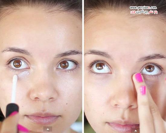 آرایش پوست چرب در تابستان