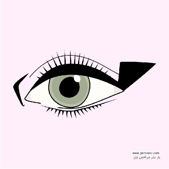 مدل های خط چشم مایع