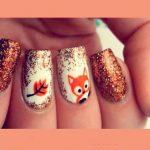 آموزش طراحی ناخن روباه پیشنهادی بانمک برای فصل پاییز