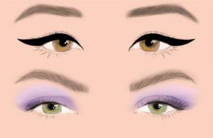 چطور براساس مدل چشم هایمان از سایه چشم استفاده کنیم؟!