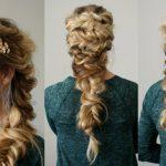 آموزش بافت مو زیبای پری دریایی به سبک شلوغ و پرحجم