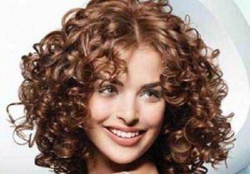 تقویت موهای مجعد