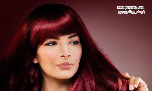 رنگ مو برای پوست های گرم