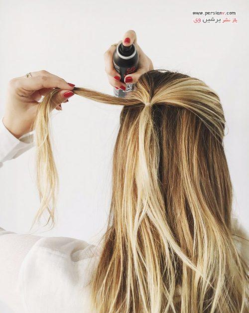 آرایش مو فوق العاده سریع