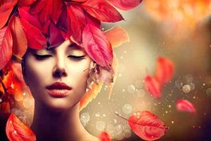 یک آرایش چشم ساده با الهام از رنگهای پاییز +عکس