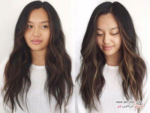 آموزش دکلره و هایلایت کردن مو در منزل +راهنمای تصویری
