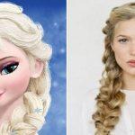 آموزش تصویری آسان بافت مو السا ملکه یخی محبوب