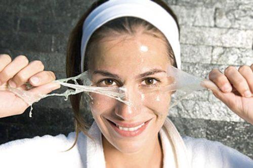 طرز تهیه انواع ماسک صورت با ژلاتین در منزل