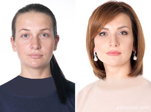 جادوی حیرت انگیز تغییر مدل مو و استایل روی جوانتر کردن چهره