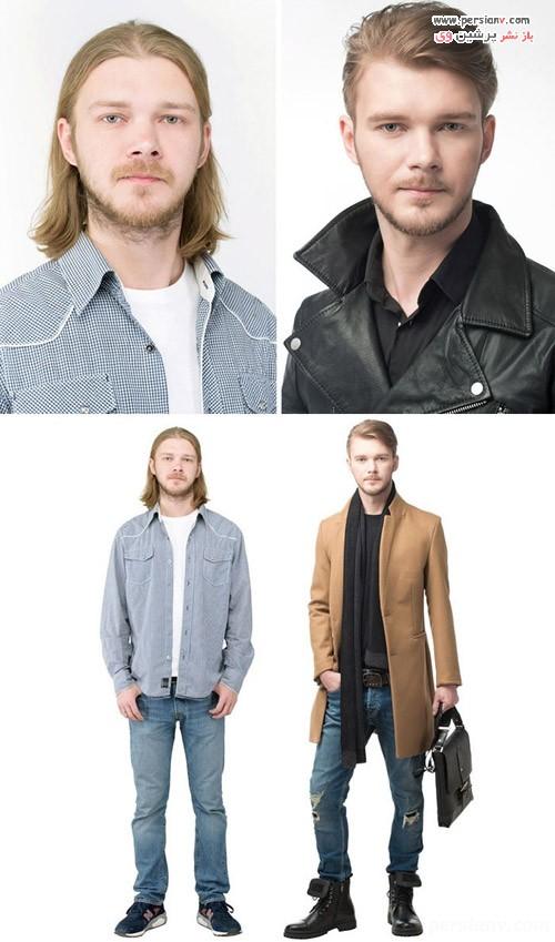 تغییر مدل مو