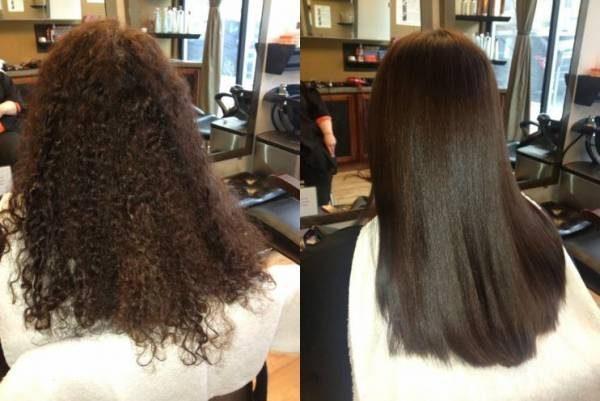 کراتینه کردن مو با مواد خانگی