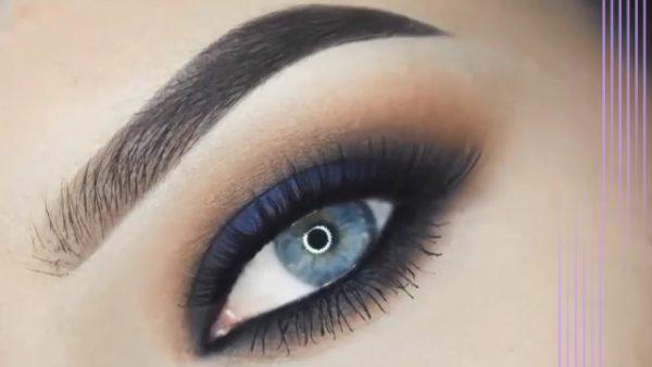 آرایش چشم ویژه مهمانی با الهام از رنگ آبی تابستانی! +عکس