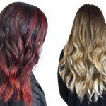 ایده های زیبا از بالیاژ موی بلند و کوتاه ویژه موهای مشکی و قهوه ای