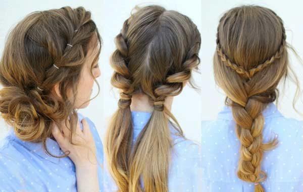 ۷ استایل از بهترین مدل مو زنانه در ماه های گرم تابستان