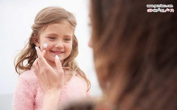 تفاوت ضد آفتاب کودک و بزرگسال